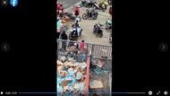 Viral Warga Jarah Minuman Muatan Truk yang Terguling di Tawangmangu