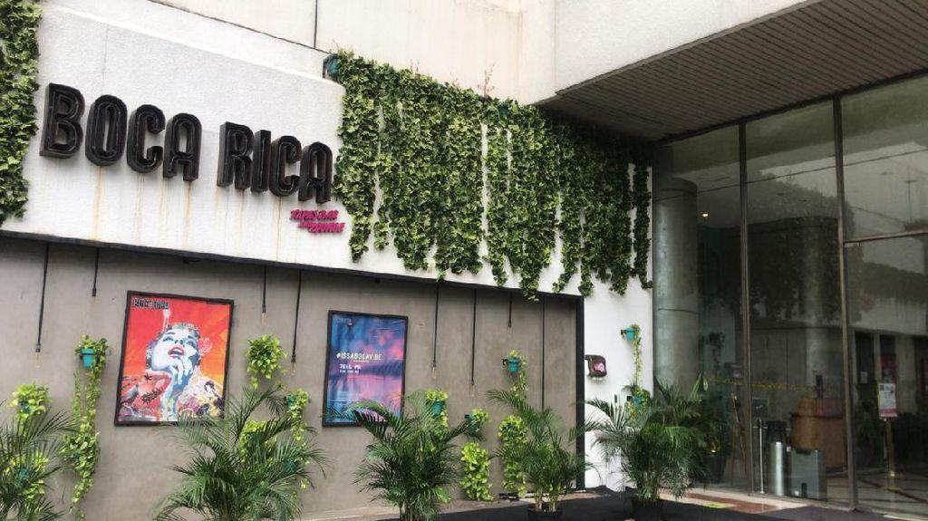 Ditindak karena Langgar Jam Operasi, Begini Kondisi Boca Rica Cafe