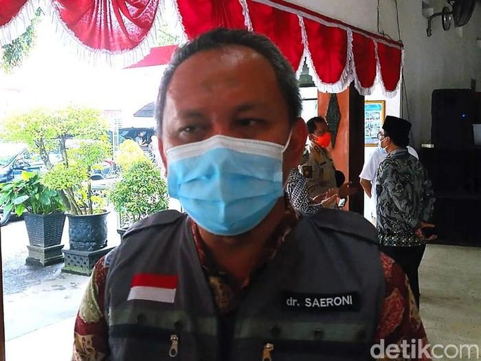 Kepala Dinas Kesehatan Pengendalian Penduduk dan Keluarga Berencana (Dinkes PPKB) Trenggalek Saeroni