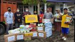 Distribusi Bantuan untuk Korban Banjir Jember