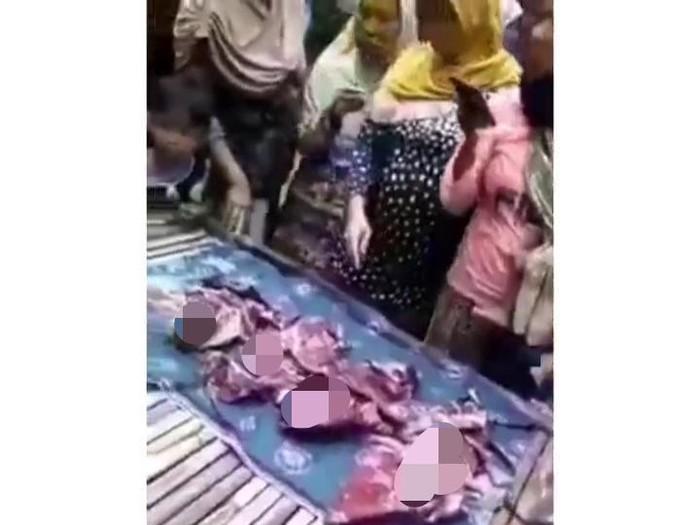 Video tentang seorang ibu melahirkan 4 bayi sekaligus dan sendirian, viral di media sosial. Peristiwa itu disebutkan terjadi di Bangkalan, Madura.
