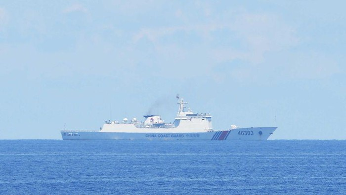 China has maritime disputes with several of its neighbours, including in the South China Sea.(AFP: Ted Aljibe)