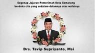Ganjar Berduka Eks Pjs Walkot Semarang Tavip Meninggal Positif Corona