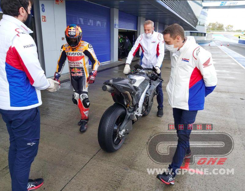 Motor baru Honda di MotoGP