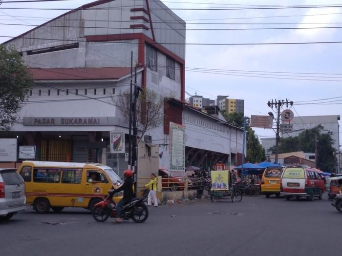 Pasar Sukaramai Medan (Datuk Haris-detikcom)