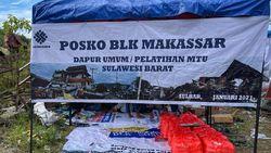 Kemnaker Buka Posko Dapur Umum untuk Korban Gempa di Sulbar