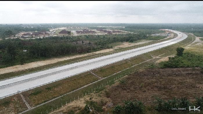 Proyek jalan tol Pekanbaru-Bangkinang 40 km