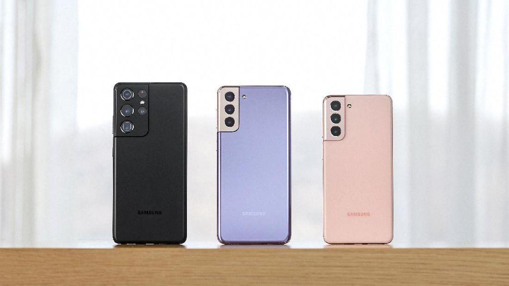 Samsung Galaxy S21 Series 5G Resmi Bawa 5G ke Indonesia