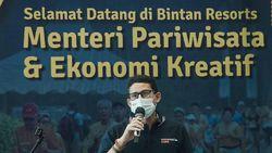 Persiapkan Travel Bubble, Sandiaga Tinjau Protokol Kesehatan di Bintan