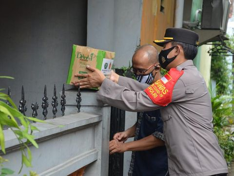 Sembako untuk pasien COVID-19 di Bekasi (Dok Istimewa)
