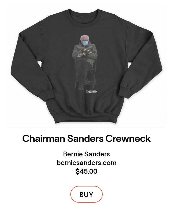 Viral Meme Bernie Sanders Di Sweater Dijual Us 45