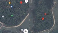 Viral Tag Lokasi Warung Makan hingga Tanda S.O.S di Pulau Laki, Ini Penjelasannya
