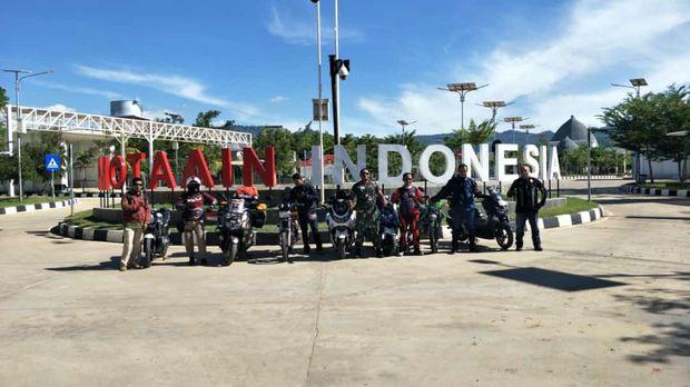 All New Yamaha Nmax diajak touring ke Timor Leste