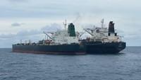 Detik-detik Bakamla Amankan 2 Tanker Berbendera Iran-Panama