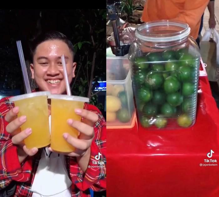 Duh! Food Vlogger Ini Kaget Jajan Es Jeruk Pinggir Jalan Rp 60 Ribu