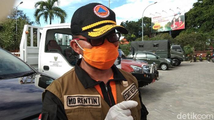 Kepala Pelaksana BPBD Bali I Made Rentin (Angga Riza/detikcom).