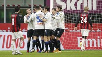 Atalanta Vs Milan: Rossoneri Tamat Setelah Kebobolan Gol Kedua