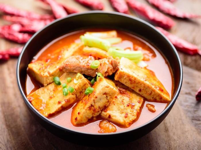 Resep Sup Tahu Korea