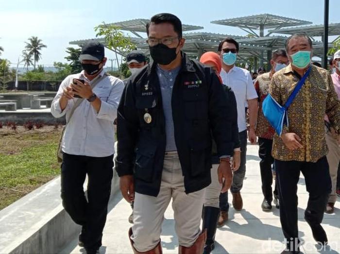 Ridwan Kamil doakan kesembuhan bupati dan wabup Pangandaran