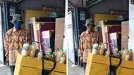 Viral Kakek Penjual Jamu Ditipu, Beri Uang Kembalian ke yang Belum Bayar