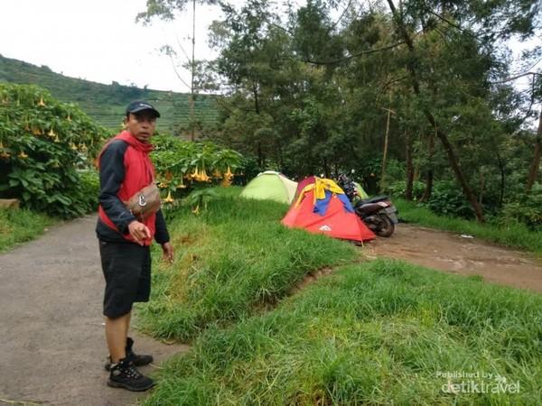 Camp area Sikunir Dieng