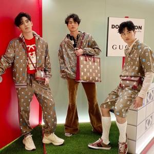 3 Aktor Thailand Pakai Koleksi Doraemon x Gucci, Gantengnya Bikin Meleleh