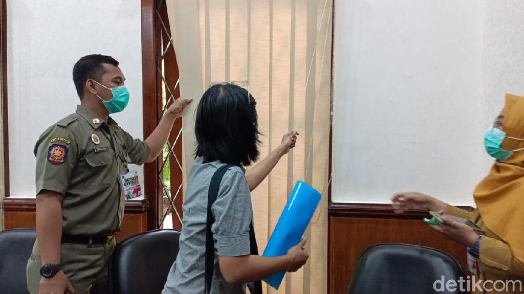 Satgas COVID-19 Surabaya Assement Ruangan di Kantor Pemprov Jatim