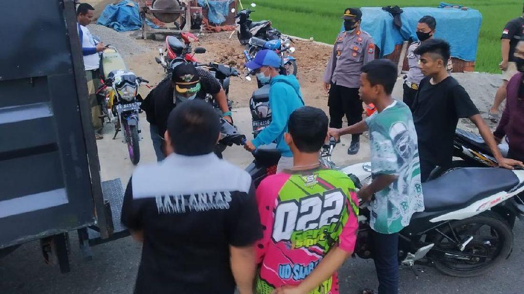 Lagi Asyik Balap Liar, 19 Remaja di Ponorogo Diamankan Lalu Ditilang