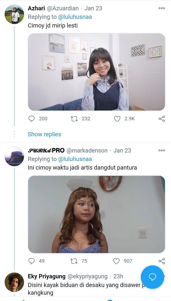 Penampilan baru Cimoy Montok