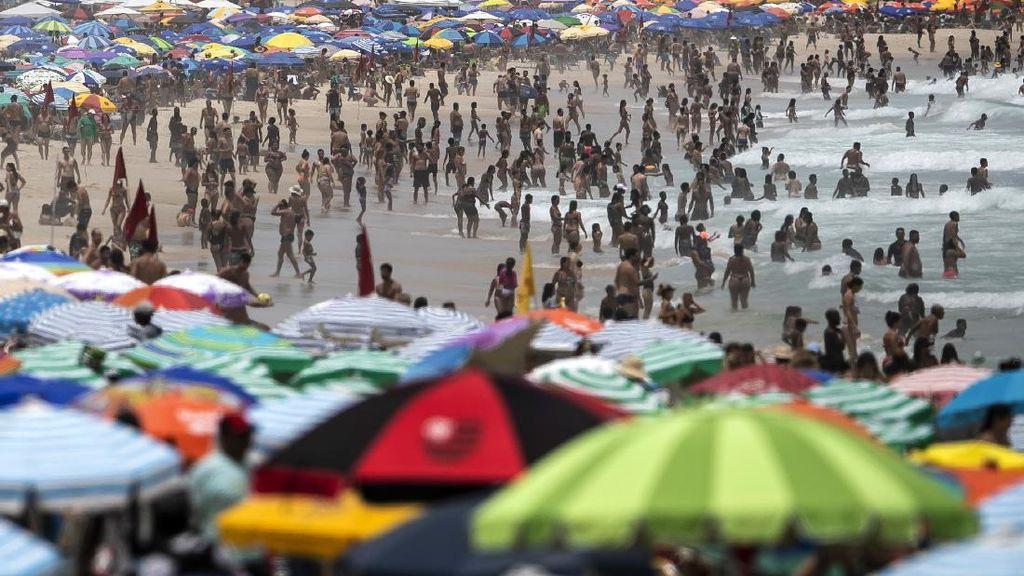 Rekor Selama Pandemi, Brasil Laporkan 1.910 Kematian Akibat COVID-19