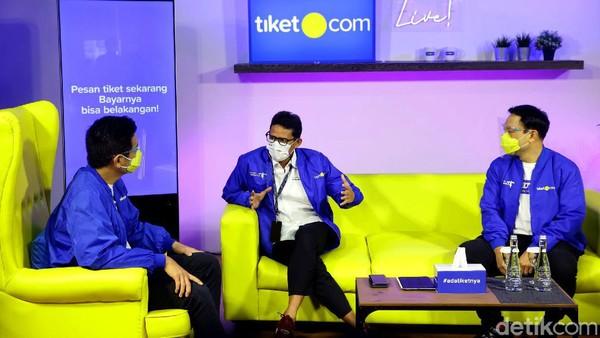 Kemenparekraf dan tiket.com berkolaborasi secara strategis untuk mengakselerasi pemulihan pariwisata di Indonesia dengan mendukung kampanye IndDOnesia CARE dan membantu menyoroti 5 destinasi super prioritas.