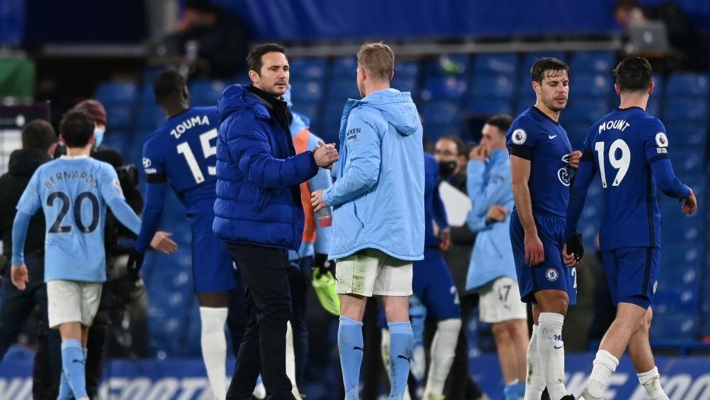 Chelsea-nya Frank Lampard Buruk Lawan Tim-tim Besar