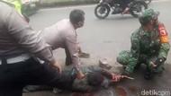 Kabur Usai Bunuh Adik Pakai Cangkul, Pria Ini Ngamuk Saat Ditangkap