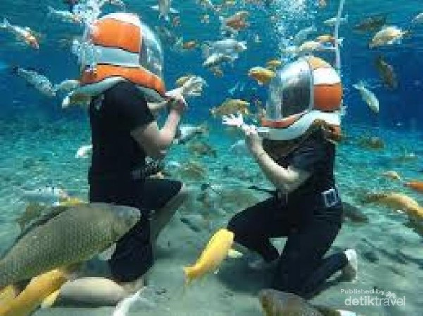 foto underwater walker