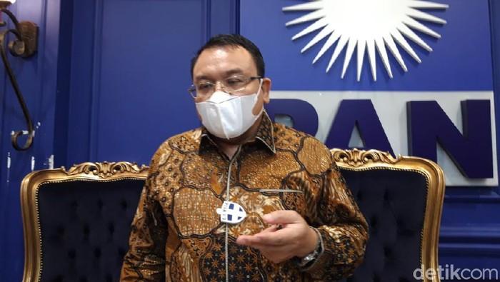Ketua DPP PAN, Saleh Partaonan Daulay (Rahel/detikcom)