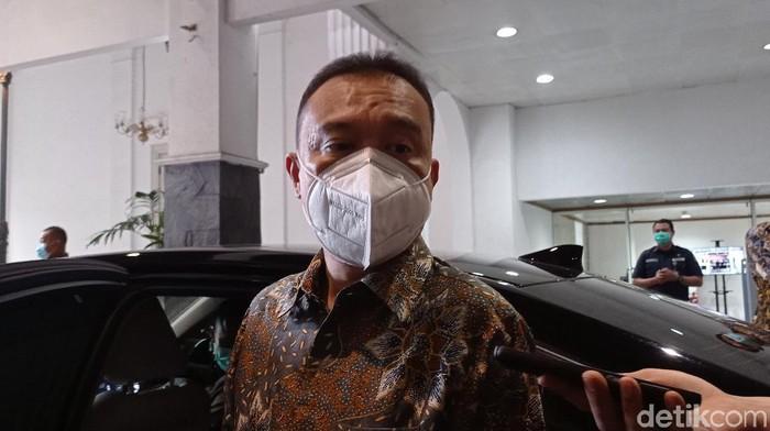 Ketua Harian Gerindra Sufmi Dasco Ahmad (Wilda Hayatun Nufus/detikcom).
