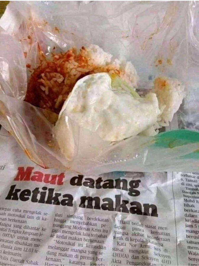 Kocak! 5 Tulisan di Kertas Bungkus Makanan Ini Bikin Nafsu Makan Hilang