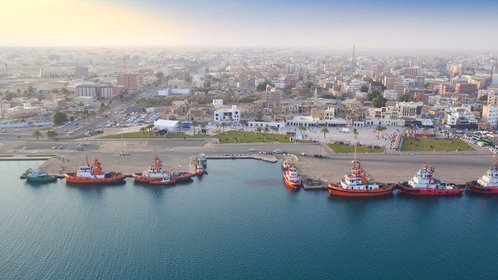 The historical region of Yanbu Saudi Arabia, Yanbu port,May