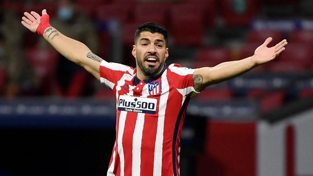 Luis Suarez Terus Menggigit di Atletico Madrid