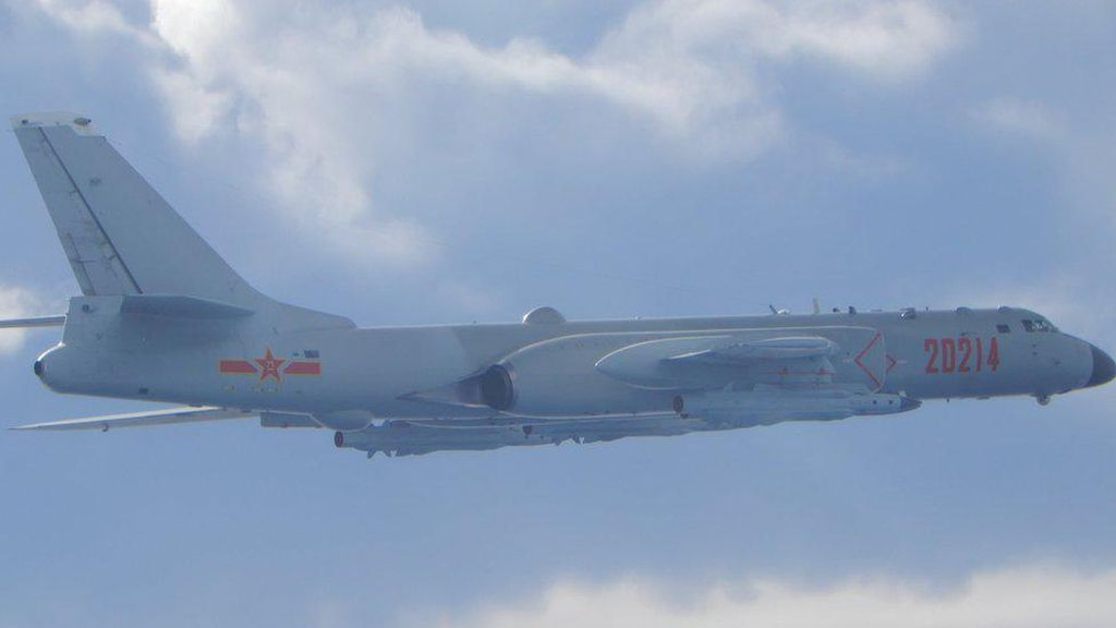 11 Jet Tempur China Latihan di Dekat Pratas, Taiwan Aktifkan Rudal
