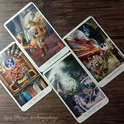 Pembacaan Tarot Zodiak Cinta 2021.