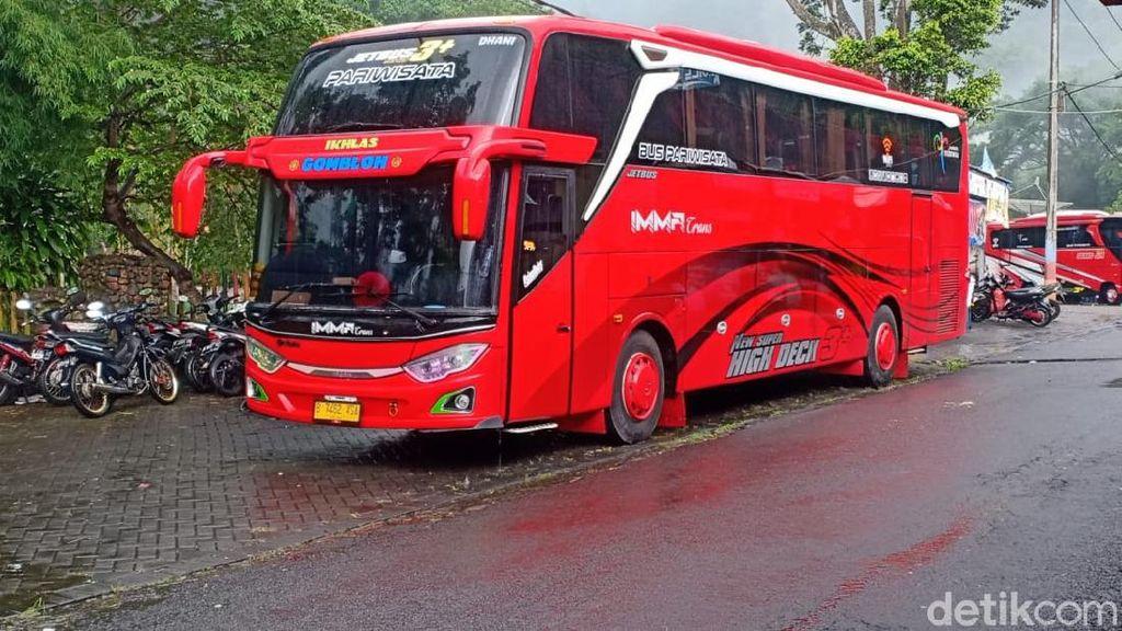 Maling Nekat, Bukan Motor Atau Mobil Tapi Sebuah Bus Digondolnya