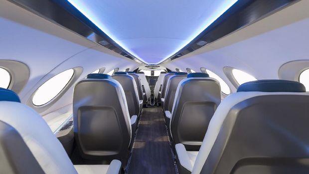Pesawat listrik komersil, Alice, yang dioperasikan start-up Israel, Eviation