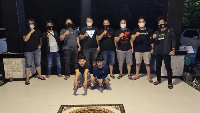 Retas Akun WhatsApp Kapolsek Duapitue Sulsel, 2 Pemuda Ditangkap (Foto: dok. Istimewa)