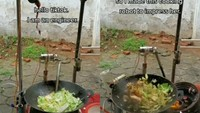 Doyan Chinese Food, Teknisi Ini Bikin Robot Masak Tumisan Sayur