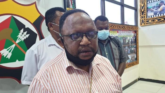Sekretaris II Dewan Adat Papua, Jhon Gobay,