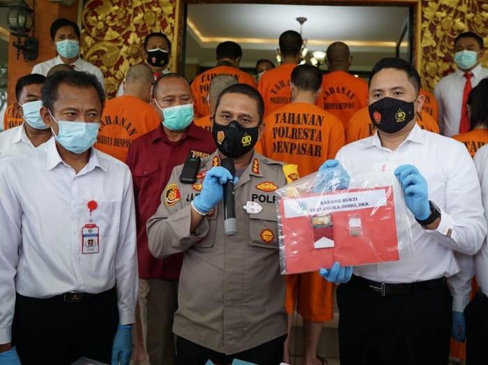 Selebrgram Syiva Angel diamankan ditangkap Polresta Denpasar terkait kasus narkoba jenis baru P-Flouro Fori (dok Istimewa)