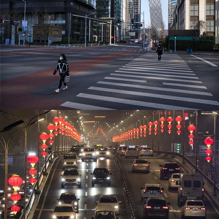 Wuhan Jelang Imlek, Dulu Bak Kota Mati Kini Bersolek Cantik