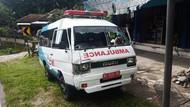 Ambulans RSUD dr Iskak Tulungagung Tabrak Biker di Blitar