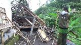 Puluhan Rumah di Lumajang Rusak Diterjang Angin Kencang